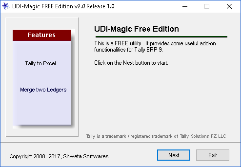 udiMagic Free Edition 2.0.1.0 Screen shot