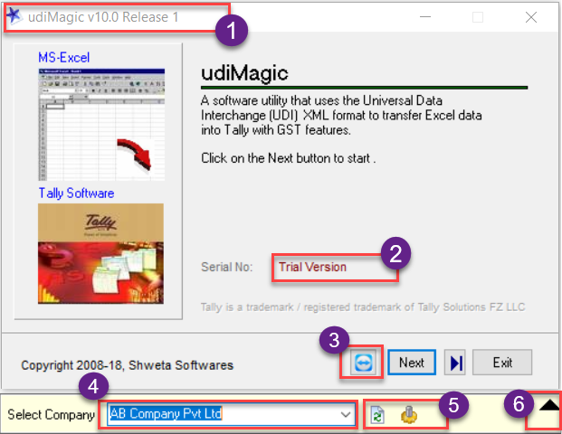 Download udiMagic Excel to Tally Software, free to try | Shweta Softwares